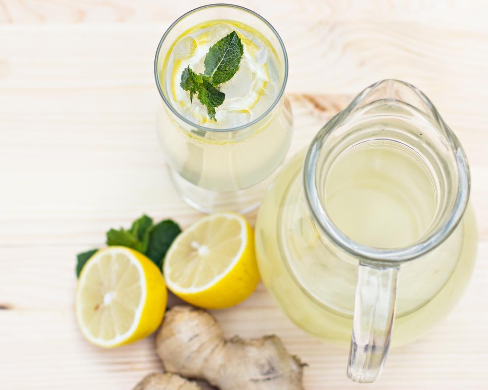 как сделать имбирный лимонад