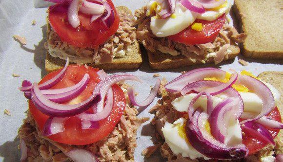 Рецепты приготовления вкусных сэндвичей с тунцом