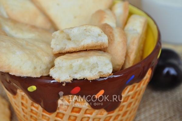 Рецепт домашнего сливочного печенья