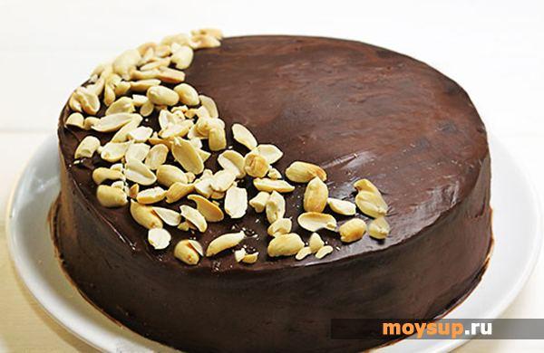 Торт с арахисом