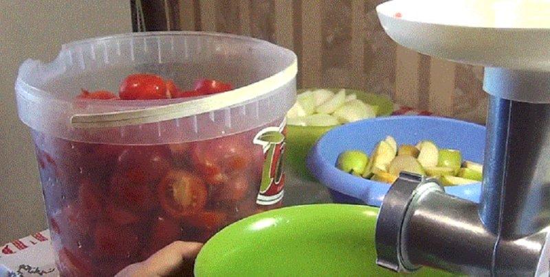 мясорубка для обработки овощей