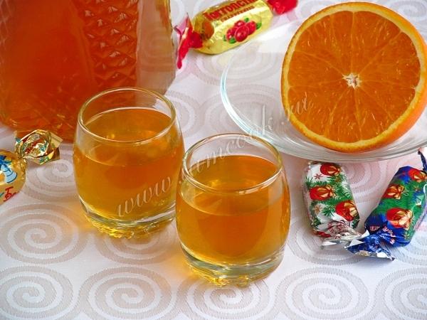 Рецепт апельсинового ликера