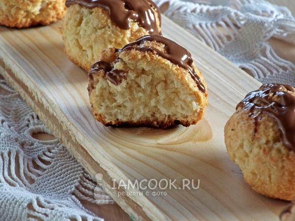 Фото печенья с кокосовой стружкой