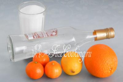 Как сделать апельсиновый ликер