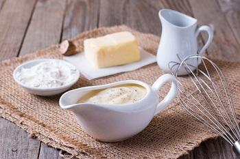 Белый соус бешамель - для каких блюд обычно используется