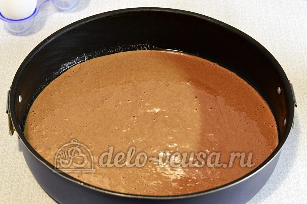 Шахматный торт: Выпекаем шоколадный корж