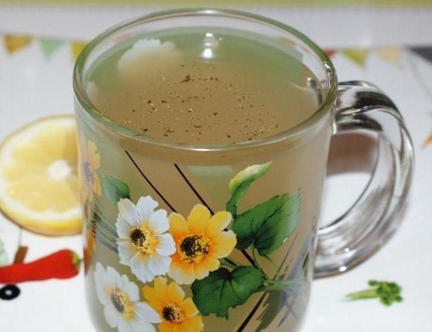 Имбирный чай с имбирем и лимоном для похудения