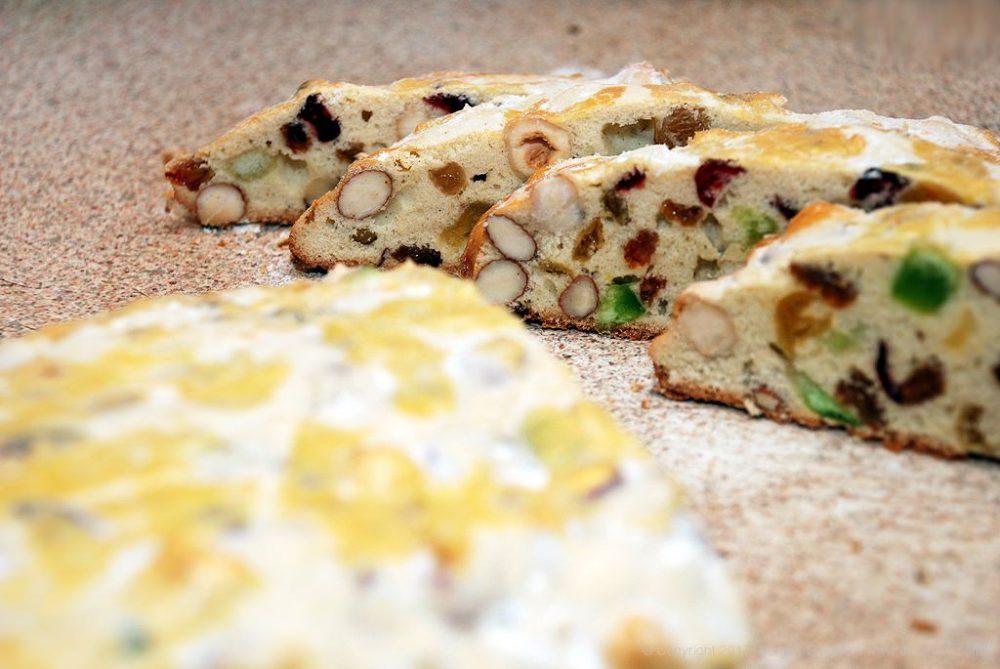 Как приготовить Бискотти — сухое печенье. Шаг 27: нарезать печенье