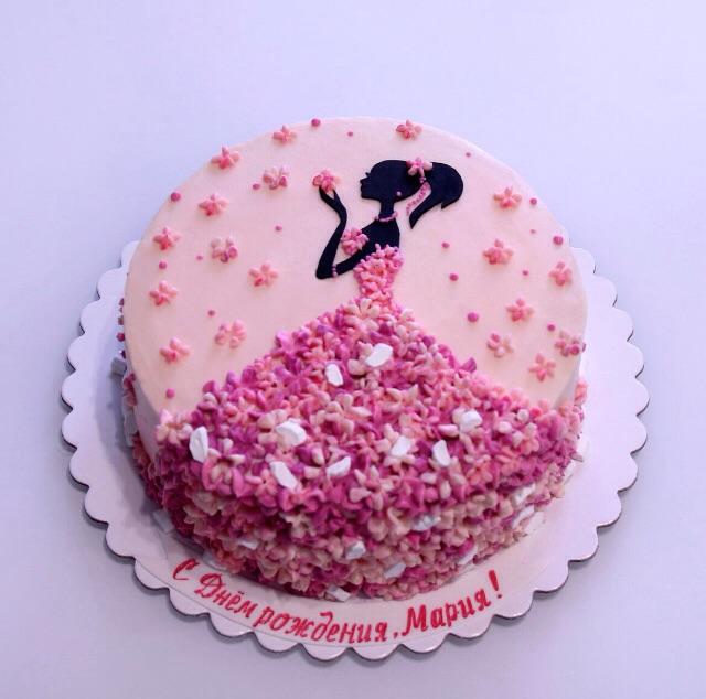 торт девочке 13