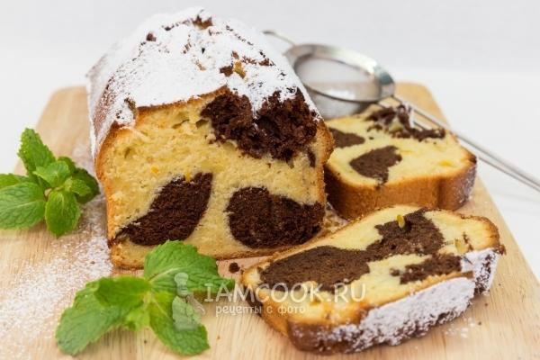 Фото апельсиново-шоколадного кекса