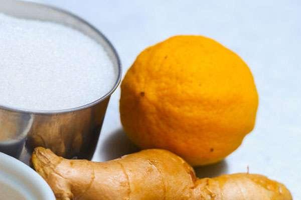 Рецепт домашнего лимонада из лимона и имбиря