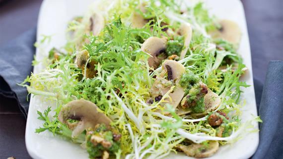 Салаты из листьев салата