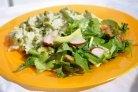 Овощной салат с редиской