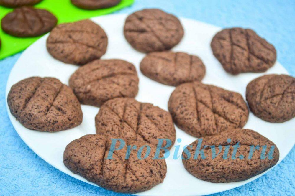 как приготовить печенье в микроволновке