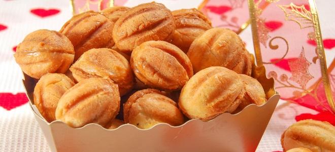 печенье орешки с майонезом
