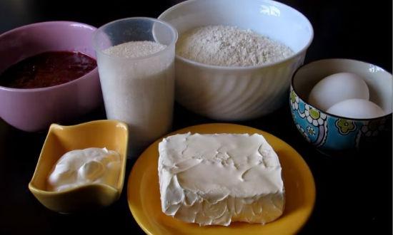 Продукты для печенья