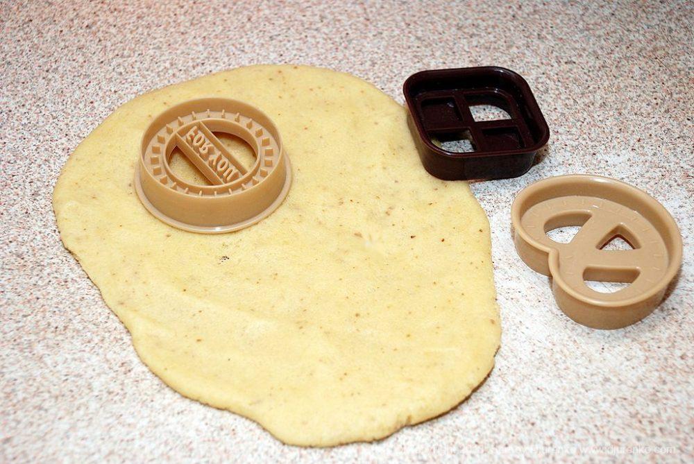 Как приготовить Домашнее песочное печенье. Шаг 13: заготовки печенья