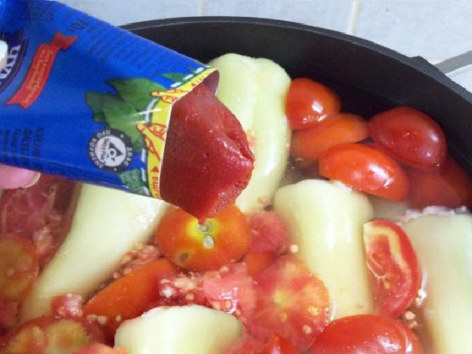 Томатная паста для фаршинованных перцев