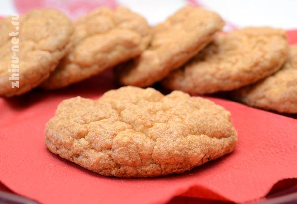нежное рассыпчатое печенье по дюкану