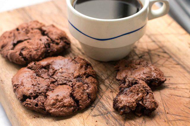диетическое шоколадное печенье