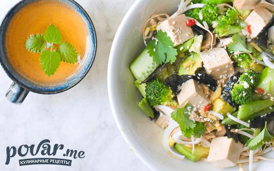 Суши-салат — рецепт приготовления с фото