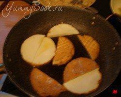 Горячая закуска из жареного риса, сыра и перца - шаг 4