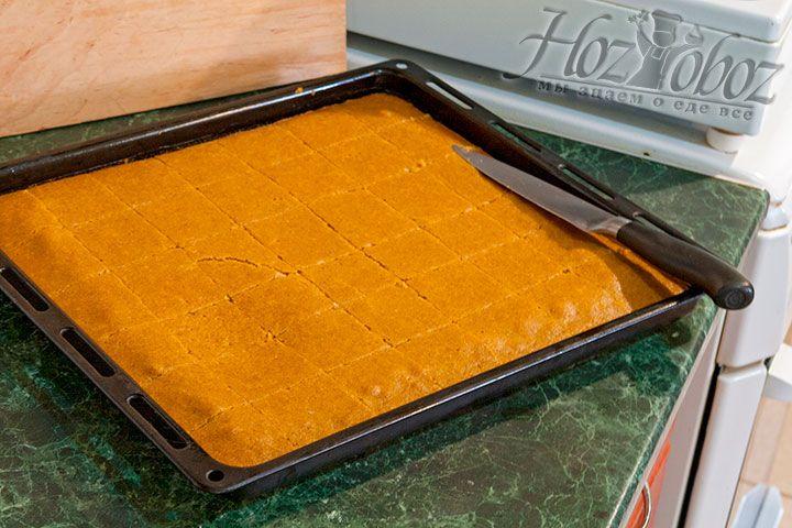 Надо нарезать пирог квадратами