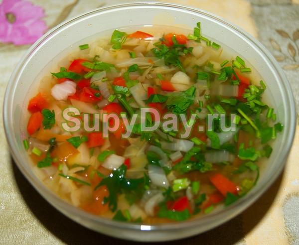 Сельдереевый суп «Классический»