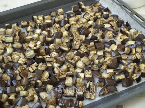 Запечь баклажаны в духовку