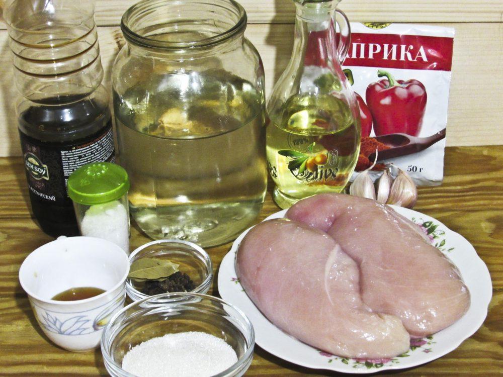 Бастурма из куриной грудки в духовке: Ингредиенты