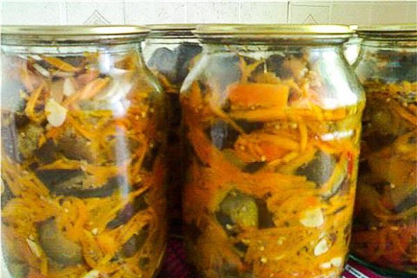рецепты с морковью