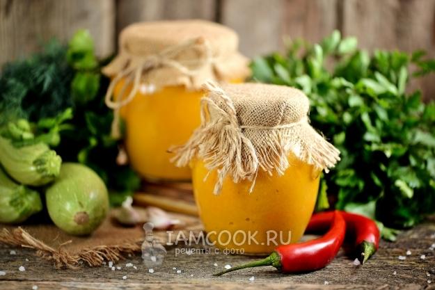 Рецепт кабачковой икры на зиму без стерилизации