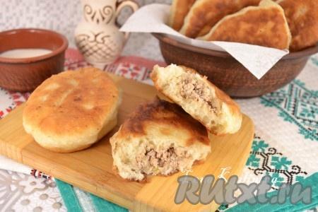 Попробуйте, пирожки с мясом, жареные на сковороде, - отличные!