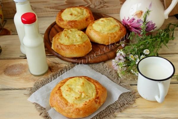 Рецепт шанег с картофелем