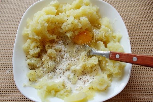 Начинка для шанег с картофелем