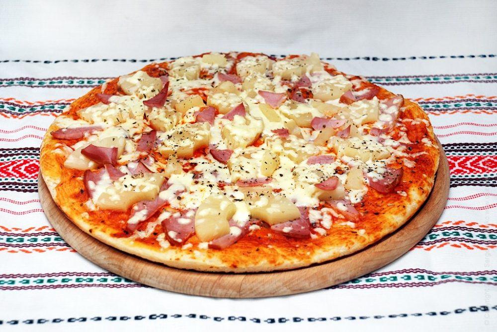 Как приготовить Гавайская пицца. Шаг 13: гавайская пицца
