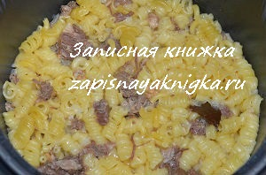 Рецепт макарон с тушенкой