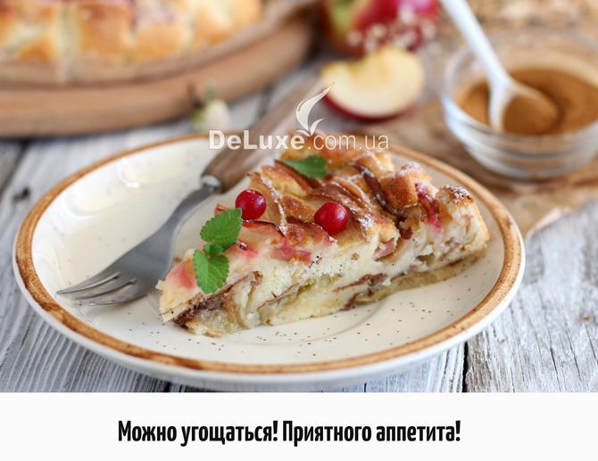 Пошаговый рецепт шарлотки