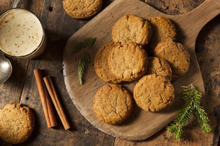 Диетическое печенье с имбирем