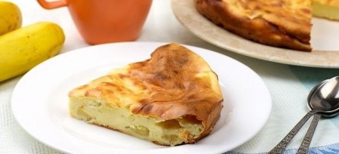 Творожный пирог на сковороде