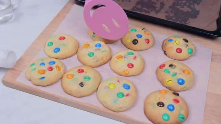 Печенье с M&M`s (ММдемс) - простое, симпатичное и вкусное