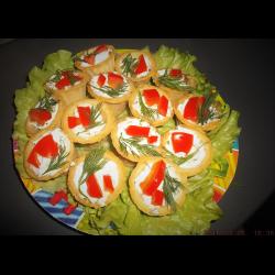 Фото Тарталетки с творожным сыром