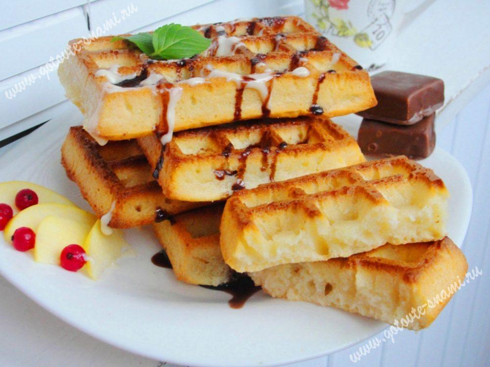 венские вафли рецепт с фото