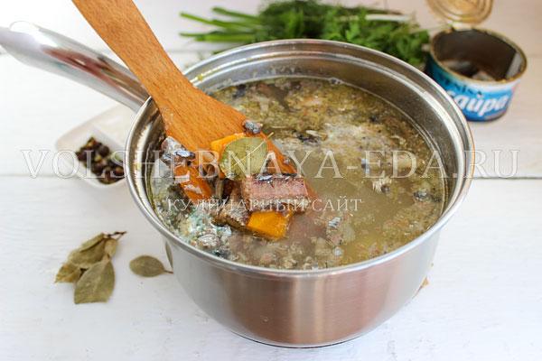 rybnyj sup iz konservov 4