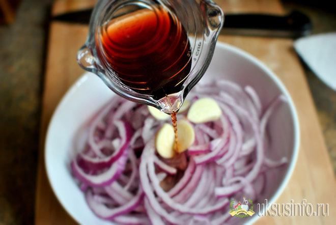 Рецепт с винным уксусным раствором