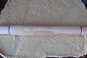 Дрожжевой пирог с капустой - фото шаг 14
