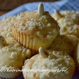 Кексы с яблоками и ореховым штрейзелем