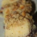 Кексовый пирог с коричным штрейзелем.