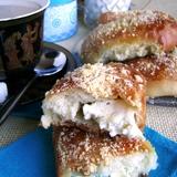 Булочки с адыгейским сыром к завтраку