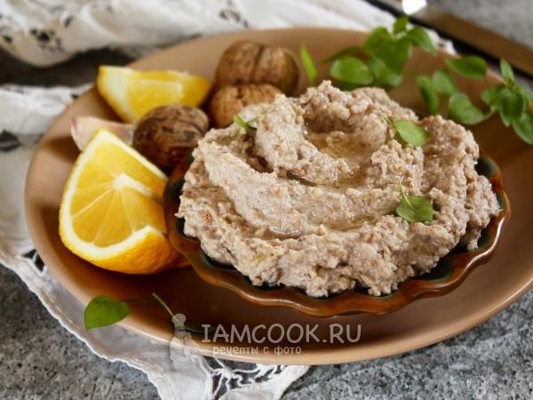 Скордалия с орехами — рецепт с фото пошагово